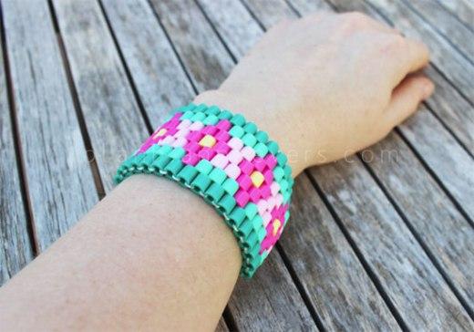 manualidades-Hama-Beads-brazalete