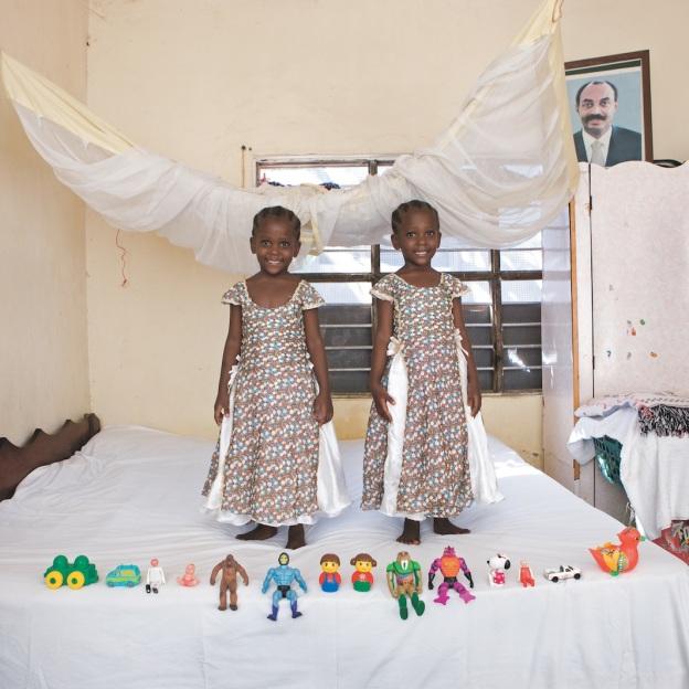 Arafa and Aisha, 5, Bububu, Zanzibar.