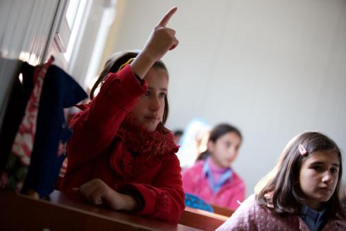 El conflicto armado impide a los niños sirios asistir a la escuela Imagen: Unicef.