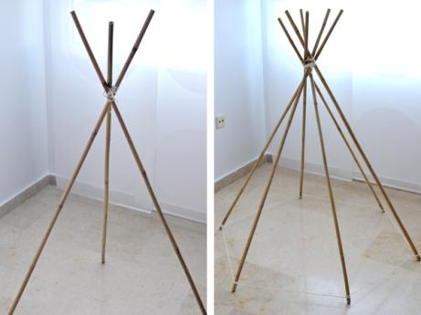 montaje-palos-bambu-tipi
