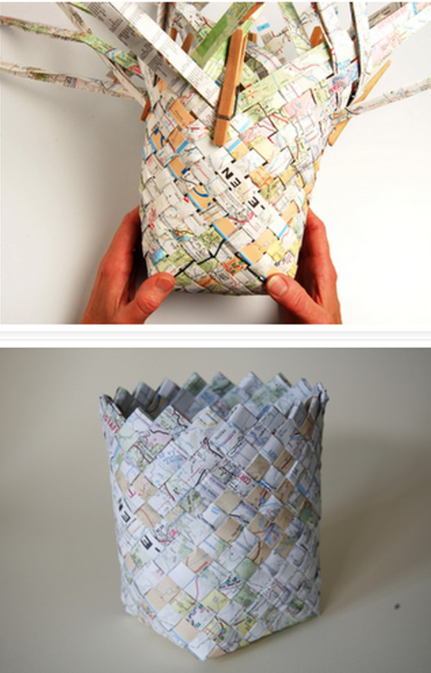 diy-manualidades-cesto-revistas-papel