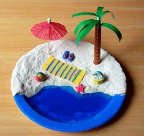 Manualidades-verano-plato-playa-2